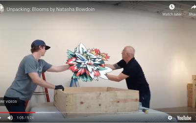 Unpacking Natasha Bowdoin's Blooms