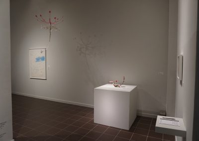 Kana Harada, Installation View of Celestial Garden, Art Museum of Southeast Texas