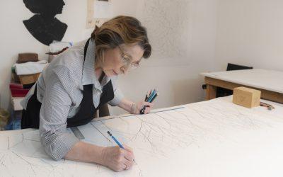 In the Studio: Linda Ridgway