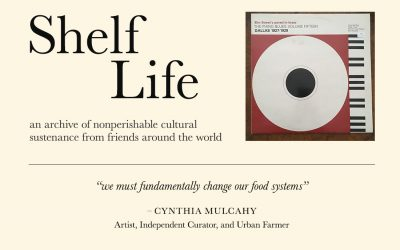 Cynthia Mulcahy's Shelf Life