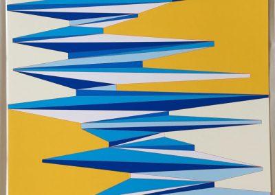 Aaron Parazette, Summer Cloud, 2018, Archival inkjet print, 23h x 19w in