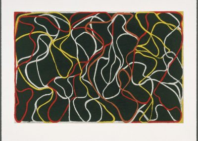 Brice Marden, Beyond Eagles Mere, 2000, Etching and lithograph, 22h x 30w in