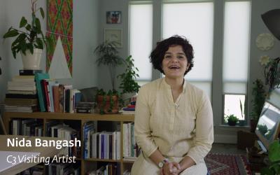 Nida Bangash | DMA C3 Visiting Artist Project